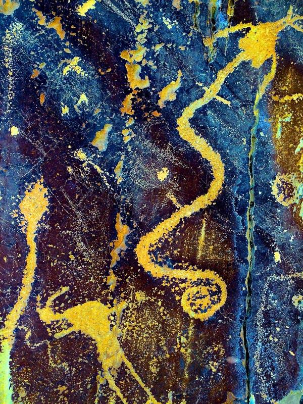 snake dance petroglyph